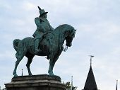 Malmo, Sweden: Monument Of King Karl X Gustav