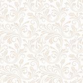 Floral seamless pattern. Vector illustration.