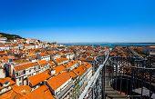 Lisboa Bird-fly View