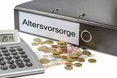 Altersvorsorge Binder Calculator And Currency
