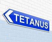 Tetanus Concept.