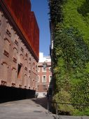 Caixa Forum In Madrid With Vertical Garden
