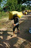 Porter Carry Rice Sack
