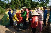Trader Weigh Rice Sack To Buy