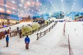 Ski Dubai Is An Indoor Ski Resort With 22,500 Square Meters Of Ski Area