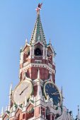 Kremlin Clock Of The Spasskaya Tower