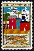 Postage Stamp Cuba 1972 Valencia Beach, By Joaquin Sorolla Y Bas