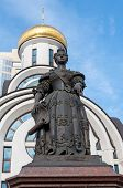 monument of the Elizabeth of Russia in Rostov on Don - sculptor Sergei Oleshna, opened in the 27th o