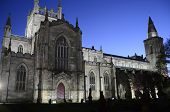 Dunfermline Church at Night