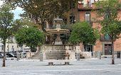 Piazza Mastai In Rome, Italy