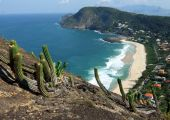 Itacoatiara Beach View Of Costao Mountain Top