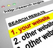 Resultados do Search Engine - o Site número um