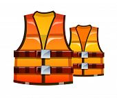vector icon safety vest