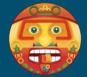 Aztec Calendar God