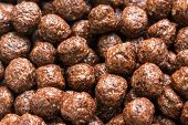 Breakfast Chocolate Balls Corn Flakes