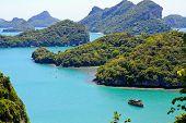 Angtong island, samui, thailand