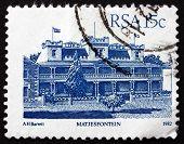 Postage Stamp South Africa 1982 Hotel Milner, Matjesfontein