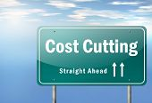 Highway Signpost Cost Cutting