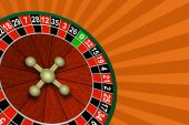 Roulette On An Abstract Background