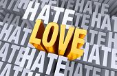 Love Rises Above Hate