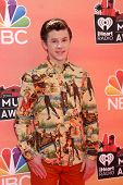 LOS ANGELES - MAY 1:  Nolan Gould at the 1st iHeartRadio Music Awards at Shrine Auditorium on May 1,
