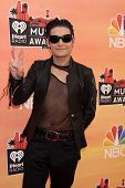 LOS ANGELES - MAY 1:  Corey Feldman at the 1st iHeartRadio Music Awards at Shrine Auditorium on May