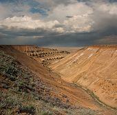 Plateau Ustiurt In Kazakhstan