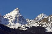 Partacua Mountains in Valley of Tena, Pyrenees, Huesca, Aragon, Spain
