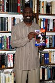 HUNTINGTON, NY-MAY 2: Former MLB player Mookie Wilson signs his book 'Mookie: Life, Baseball, and th
