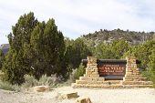 Entrance to Mesa Verde National Park