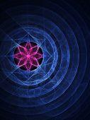 Lotus Circle Ring