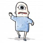 cartoon cyclops