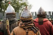 Infantry Male Warriors In The Middle Ages Medieval