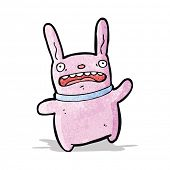 cartoon pink bunny rabbit