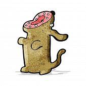 cartoon barking dog