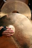 Close-up Of Hand Cymbals