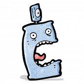 cartoon deodorant can