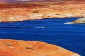 Powell lake,USA