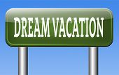 summer or winter vacation towards dream location