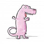 cartoon pink dinosaur