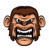 stock photo of gorilla  - Gorilla Editable  - JPG