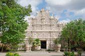 gapura agung - the main gate at taman sari water castle - the royal garden of sultanate of jogjakatr
