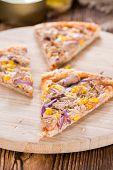 Homemade Tuna Pizza