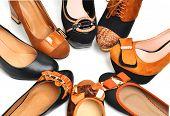 Circle Of Woman Shoes