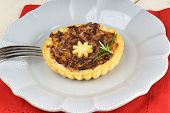 Mini Quiche With Trevisano Chicory