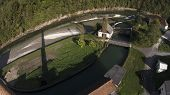 Hydroelectric Power Plant On A River