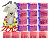 Calendar Year Of The Goat