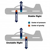 vector airplane center of gravity requirement