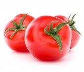 Tomato vegetable isolated on white background cutout