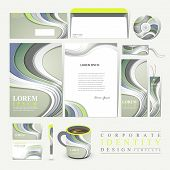 Modern Technological Design For Corporate Identity